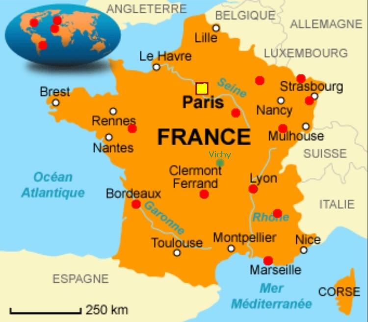 France-carte